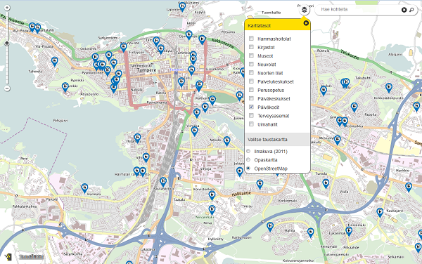 Oskari Map Application Platform